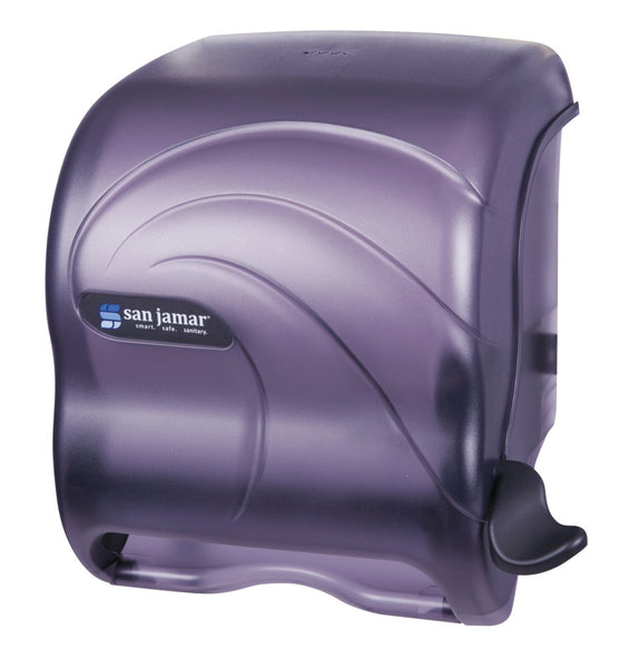 Element™ Lever Roll Towel Dispenser San jamar T950TBK CURBSIDE PICK UP AVAILABLE