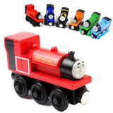 thomas and friends toys wooden toys thomas train christmas Wood small train Model Train for baby children Kids thomas train toys