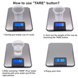 touch screen 15Kg 15000G 1G Slim Stainless Steel Lcd Digital Kitchen Food Diet Postal Scale Weight Balance