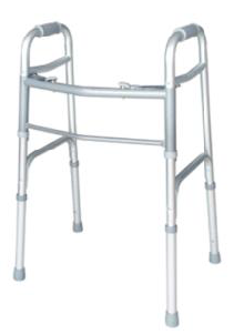 Folding Walker - Two Touch Button for Adult