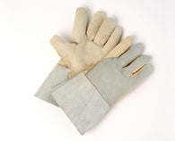 COW-GRAIN PALM, SPLIT BACK, 4″ CUFF, KEVLAR STITCHED WELDERS GLOVES PAIR