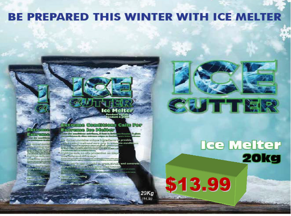 Winter Salt Green Ice Cutter 20 kg