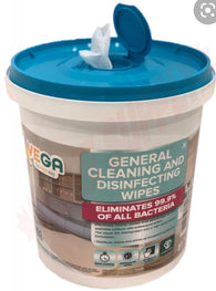 Wipes Kills 99.9% Germs Vega disinfecting Sanitizing 400 in a bucket good buy for this time.