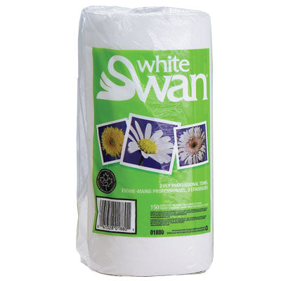 White Swan Household Hand Towel 2Ply 80's  24Cs