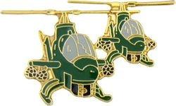 2-Cobra Formation Helicopter Pin (1 1/2 inch)