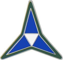 3rd Corps Insignia Pin (7/8 inch)