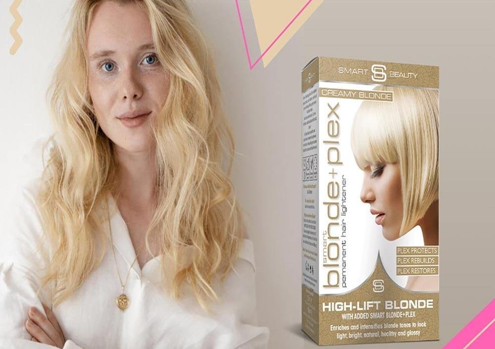 We launched our first damage-free blonde dyes - Smart Beauty Shop