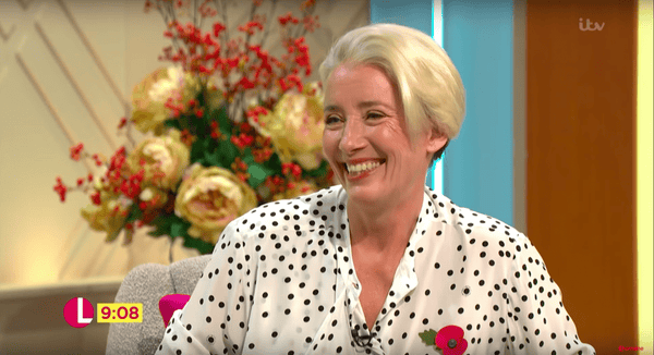 Wow! Emma Thompson sets Christmas hair trend