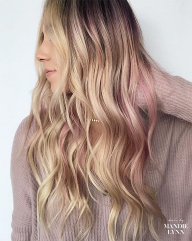 How To Choose And Get Coloured Highlights At Home