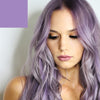 Metallic Lilac and purple hair dye