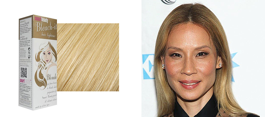 Lucy Liu blonde hair