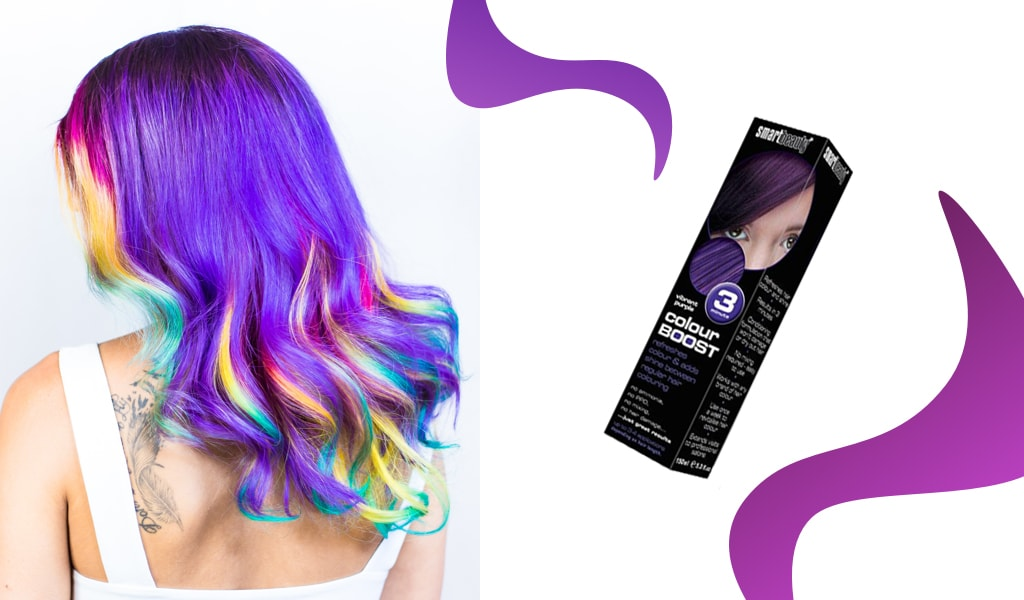 How to revive faded purple hair