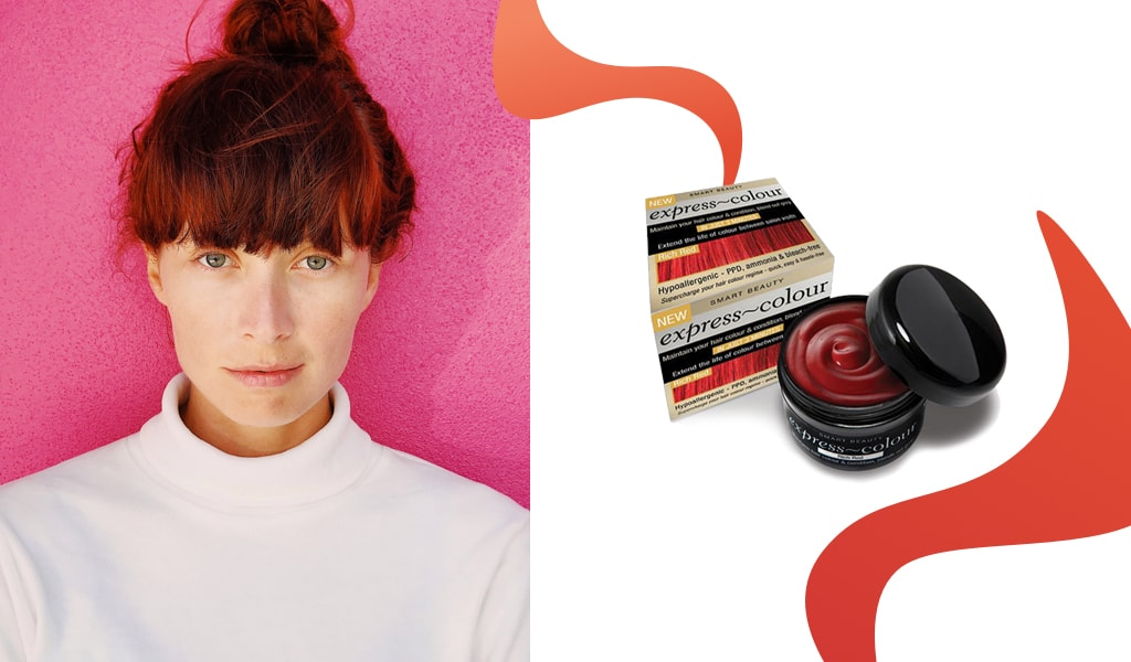 How to refresh faded red hair colour