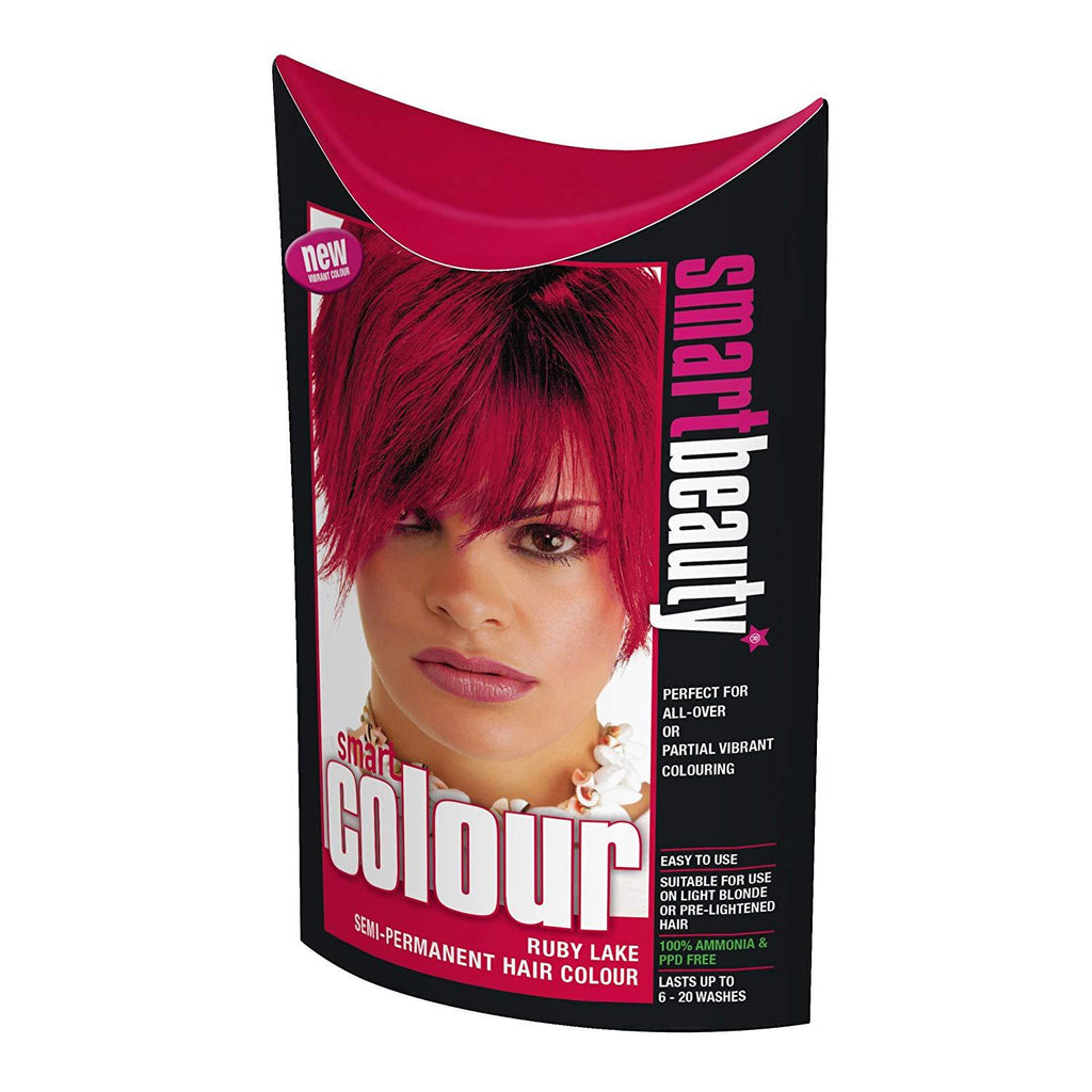 Ruby Red Vibrant Semi-permanent Hair Dye