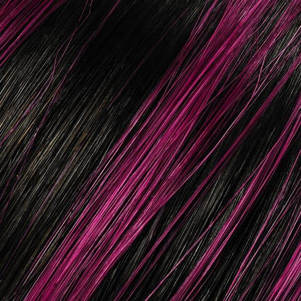 Passion Plum Dyed Hair Highlights