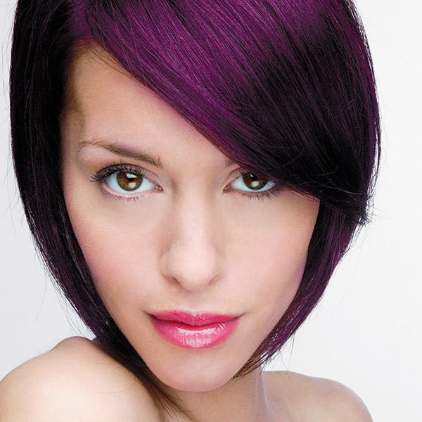 Hair Colour Refresher For Purple Shades