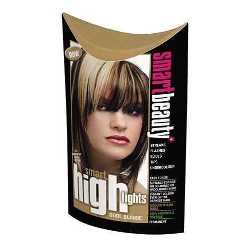 Cool Blonde High-Lift Highlights with an Platinum Blonde Conditioning Toner - Reduces Yellow Tones -