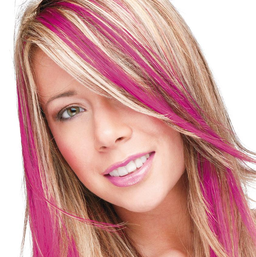 Dark Pink Smart Colour Temporary Coloured Hair Spray