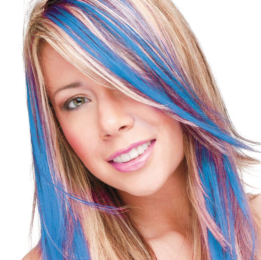 Electric Blue | Smart Colour Temporary Coloured Hair Spray