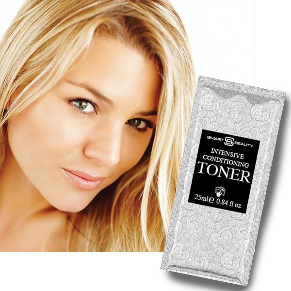 <strong>Honey Blonde<br>Conditioning Toner Cream</strong><br>Adds warm tones