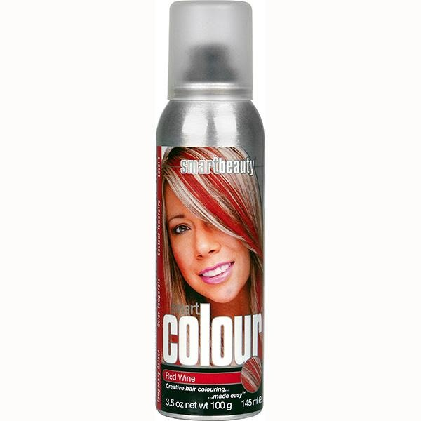 Red Wine | Smart Colour Temporary Coloured Hair Spray