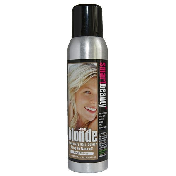 Beach Blonde | Smart Colour Temporary Coloured Hair Spray - Great for Root Touch-up - No Bleaches or Peroxide