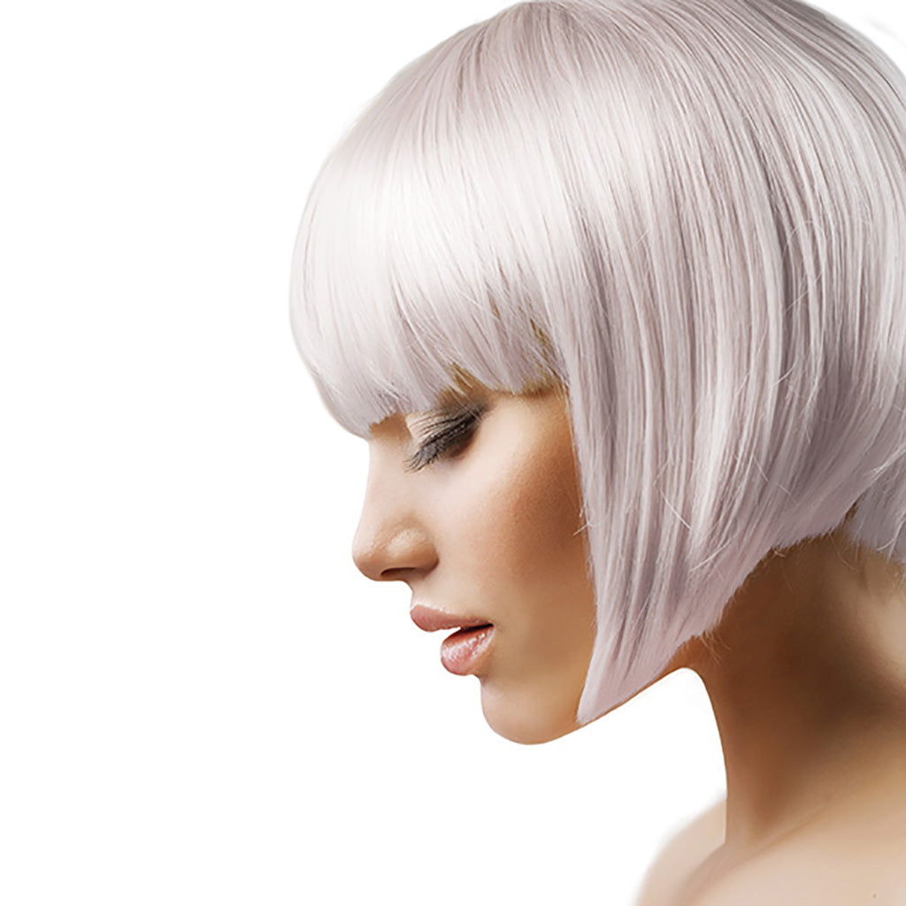 vegan cruelty free hair colour semi-permanent pastel silver moon