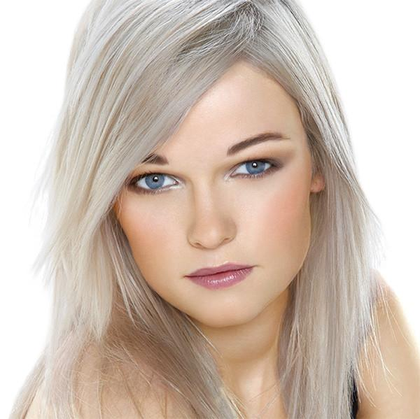 Blonde Hair Lightener with Platinum Blonde Conditioning Toner Reduces yellow tones