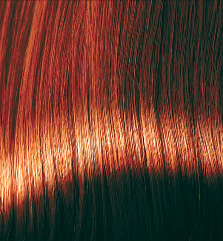 Copper Brown Hair Dye With Conditioner Colour Swatch