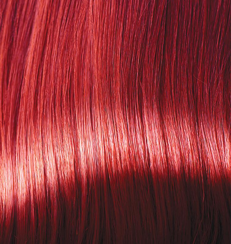 Rich Red Hair Dye With Conditioner Colour Swatch