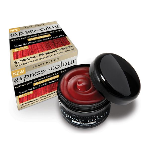 Rich Red Hair Dye With Conditioner