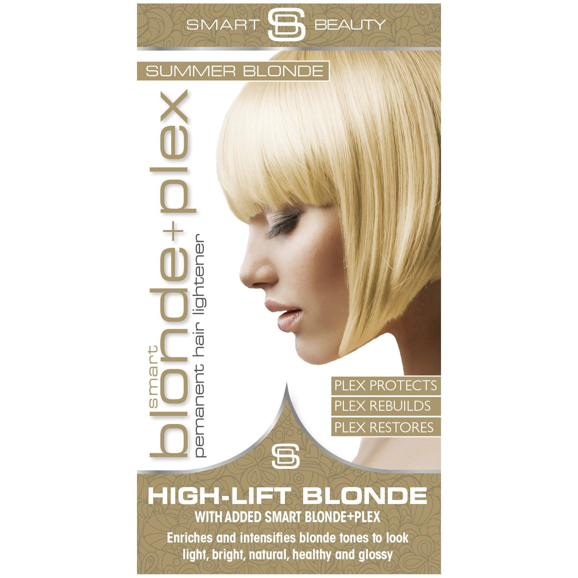 Summer Blonde Permanent Hair Dye with Smart Plex