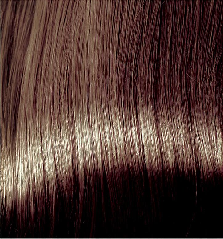 Warm Brown Hair Dye With Conditioner Colour Swatch