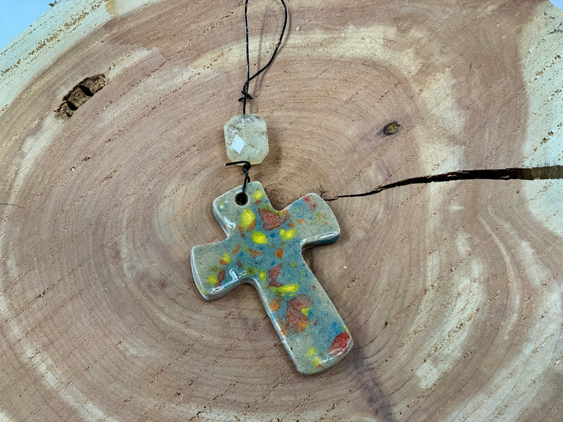 Libby Ford Speckled Cross