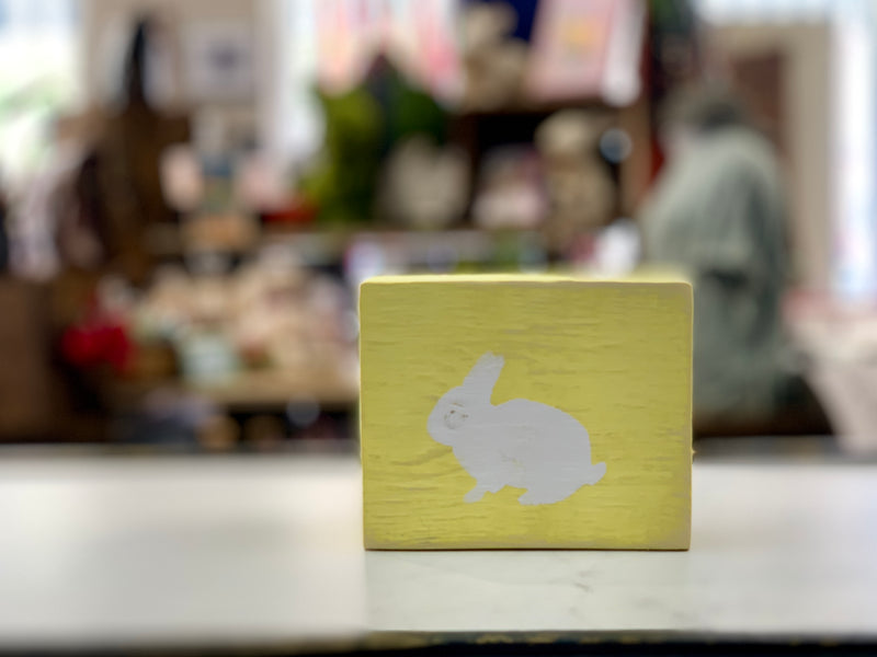 Libby Ford Bunny Wooden Blocks