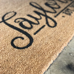Personalized Door Mat