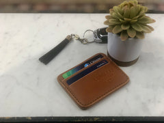 Longleaf Leather Keychain