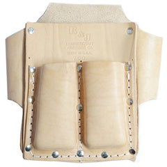3-Pocket Box Style Tool Pouch - R&J Leathercraft