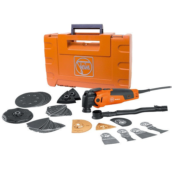 "MultiMaster ""Top"" Tool Kit with Plastic Case - Fein FMM 350Q"
