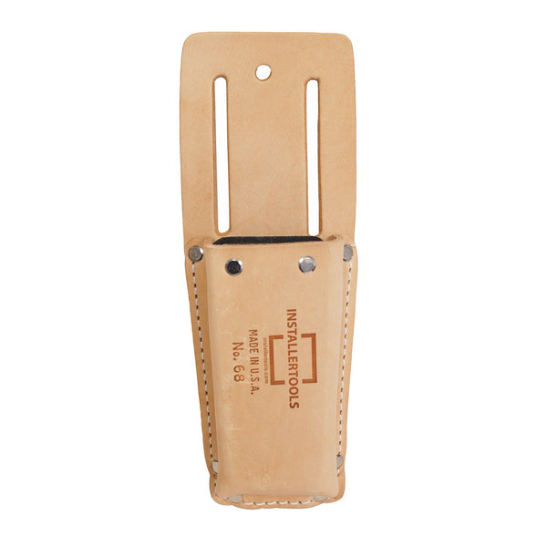 Installertools Fiber Lined Leather Knife Pouch