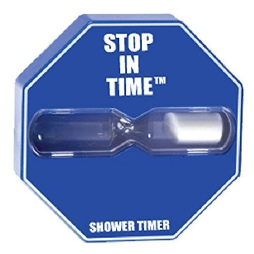 5-Minute Stop In Time® Shower Timer - Blue