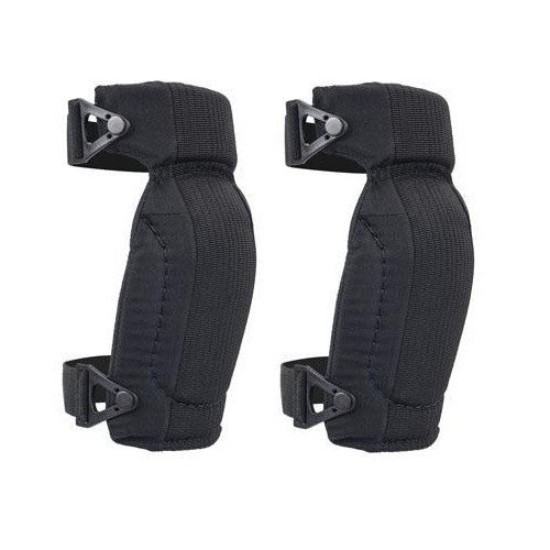 Black Capless Contoured Knee Pads