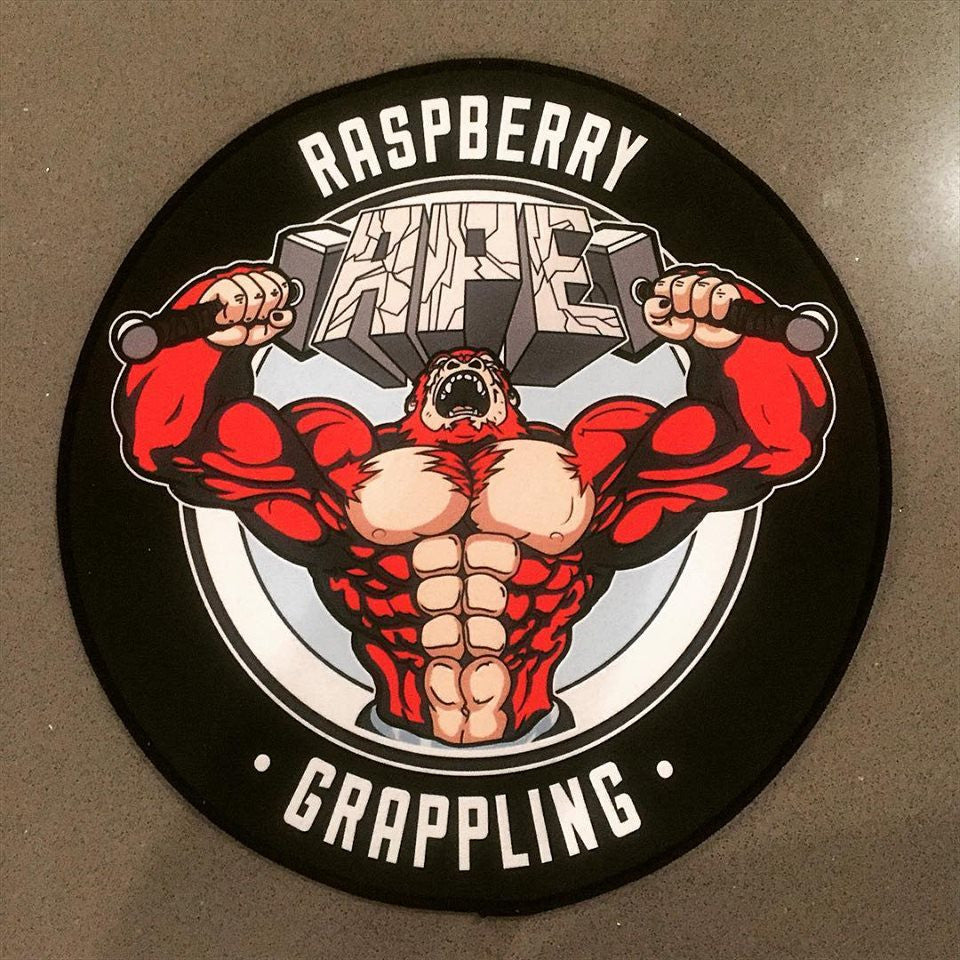 Raspberry Ape Grappling Patch