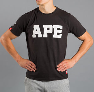 Scramble x Raspberry Ape APE T shirt - Black