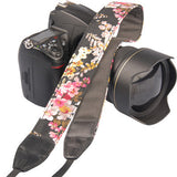 Vintage Flower Style Durable Cotton Universal Straps for Canon for Nikon DSLR