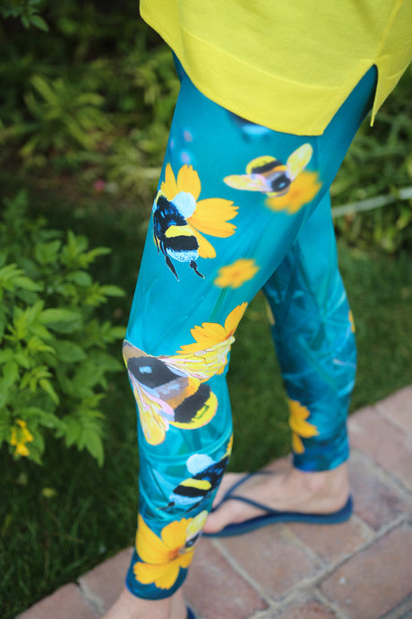 Save the Bees - Yoga Leggings