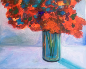 "Bouquet Of Color  - 20""W x16""H"