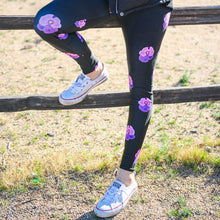 Load image into Gallery viewer, Pansy Power - Leggings