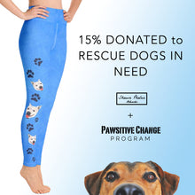 Load image into Gallery viewer, Dog Rescue - Lily the Pitbull Yoga Leggings
