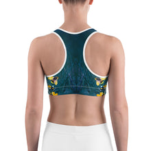 Load image into Gallery viewer, Save the Bees - Sports bra